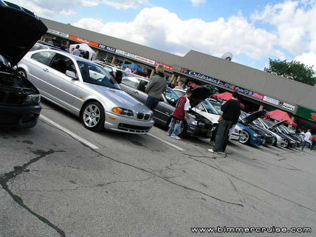 Bimmercruise 2003 at Applewood Plaza