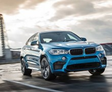 Power play: The new BMW X5 M and the new BMW X6 M.