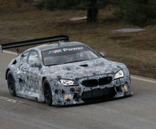 The next milestone: the BMW M6 GT3 is rolled out at the BMW premises in Dingolfing.