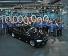 BMW Group produces 10 million BMW 3 Series Sedans