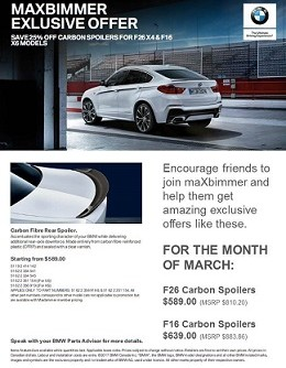 Huge Discounts on Parts at BMW.